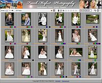Screenshot of the Image Selection Gallery
