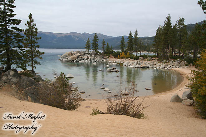 Sand Harbor State Park am Lake Tahoe