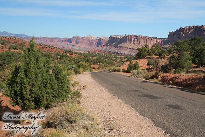 Scenic Drive im Capitol Reef Nationalpark