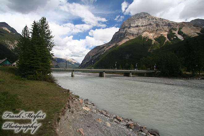 Kicking Horse River bei Field