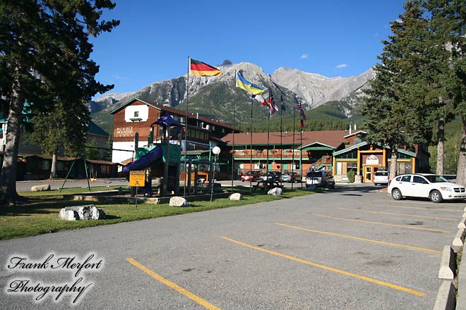 Unser Hotel in Canmore